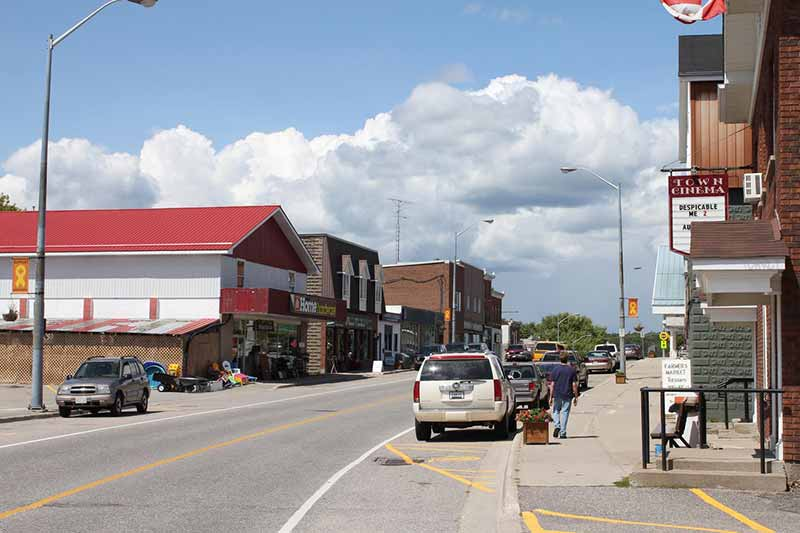 Main Street, Burk's Falls