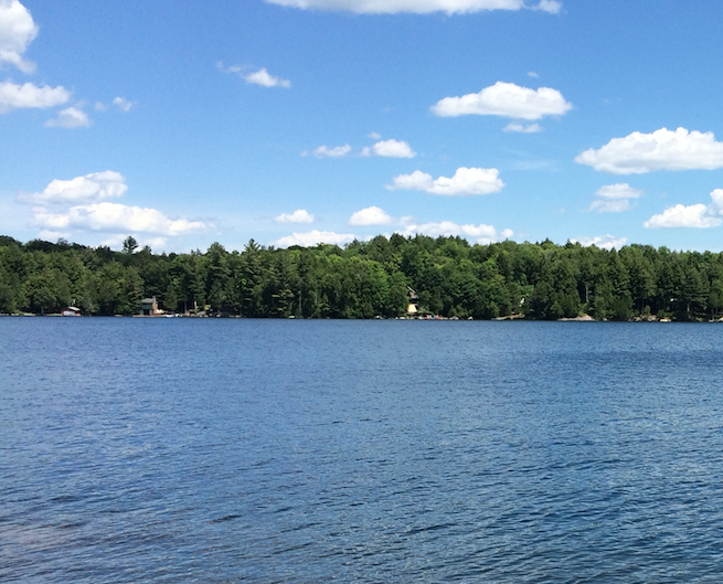 Kahshe Lake, Parry Sound